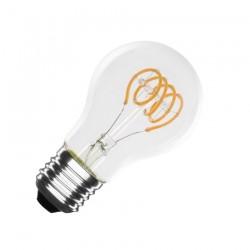 Ampoule LED E27 Dimmable Filament Spirale Classic A60 4W