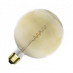 Ampoule E27 Dimmable Filament Spirale Or Supreme G125 4W