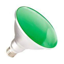 Ampoule E27 PAR38 15W IP65 Verte